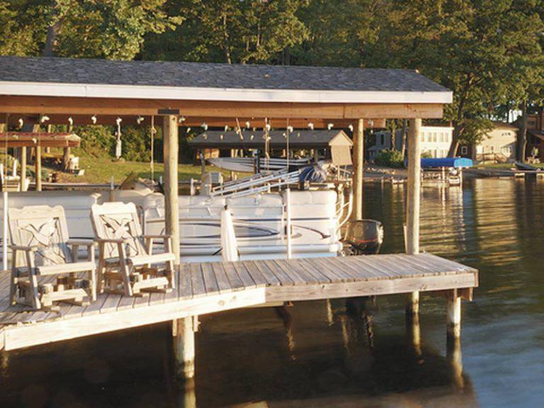 Boat House & Dock