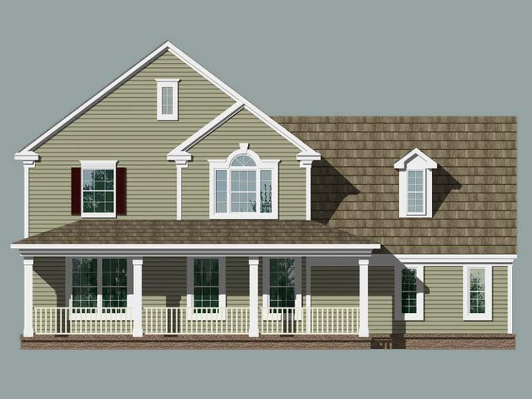 House Drawing Front Elevation